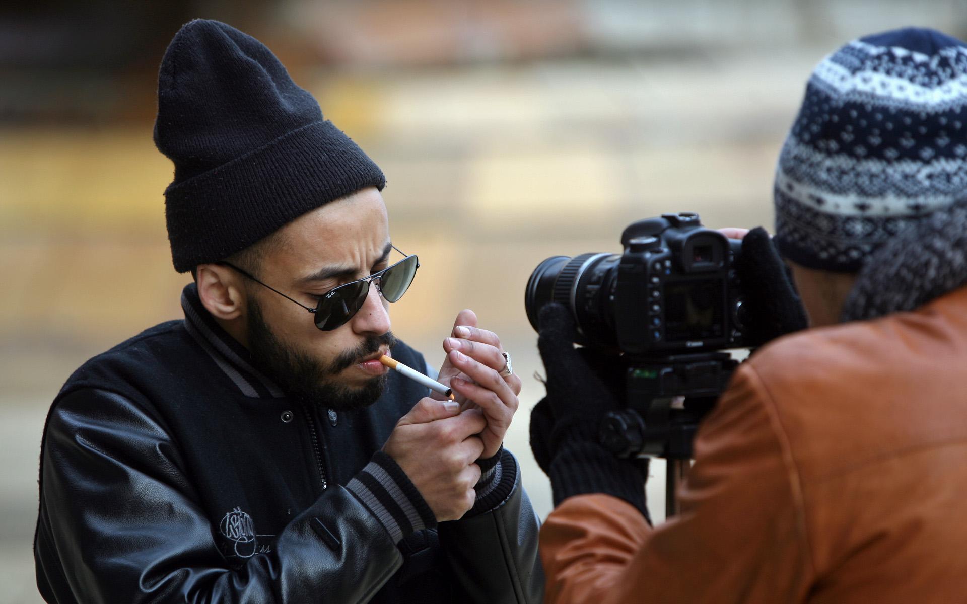 Nemir en tournage