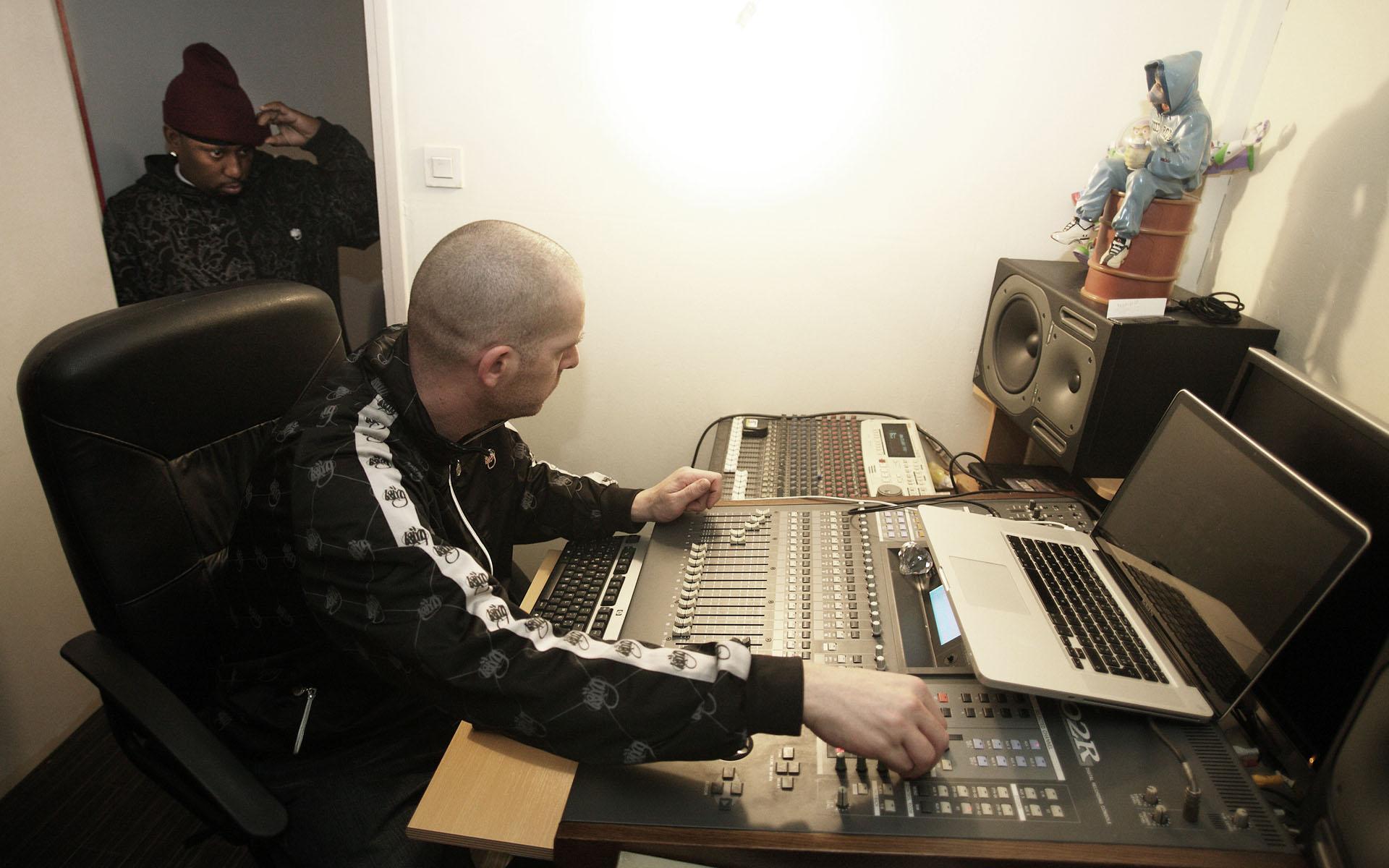 Duke en Studio