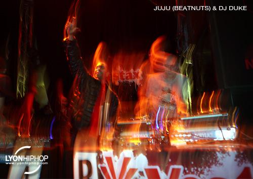 IDA 2012 - Juju (Beatnuts) et DJ Duke