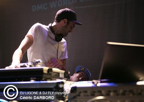 IDA 2011 - DJ Ligone et DJ Fly