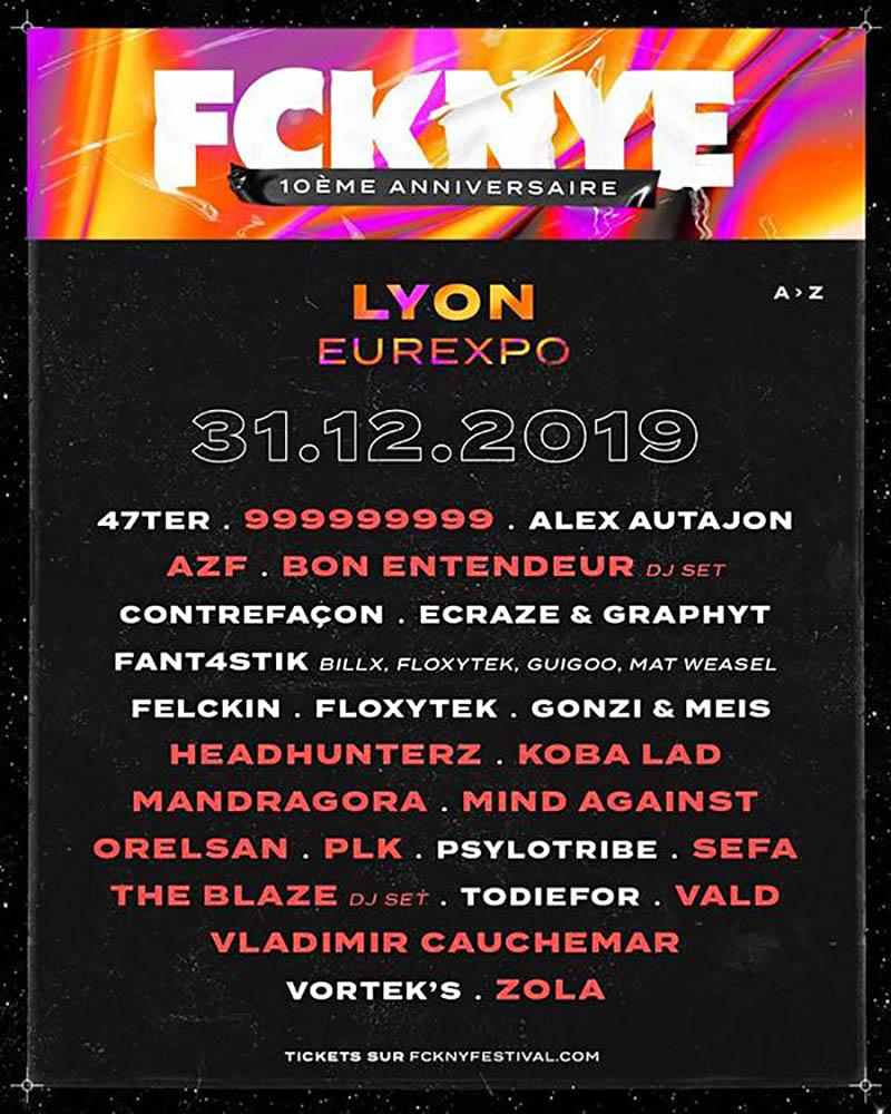 FCKNYE-reveillon-hip-hop-Lyon-31-decembre-2019
