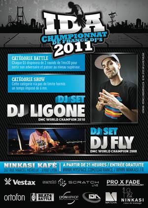 IDA 2011 - Flyer Affiche