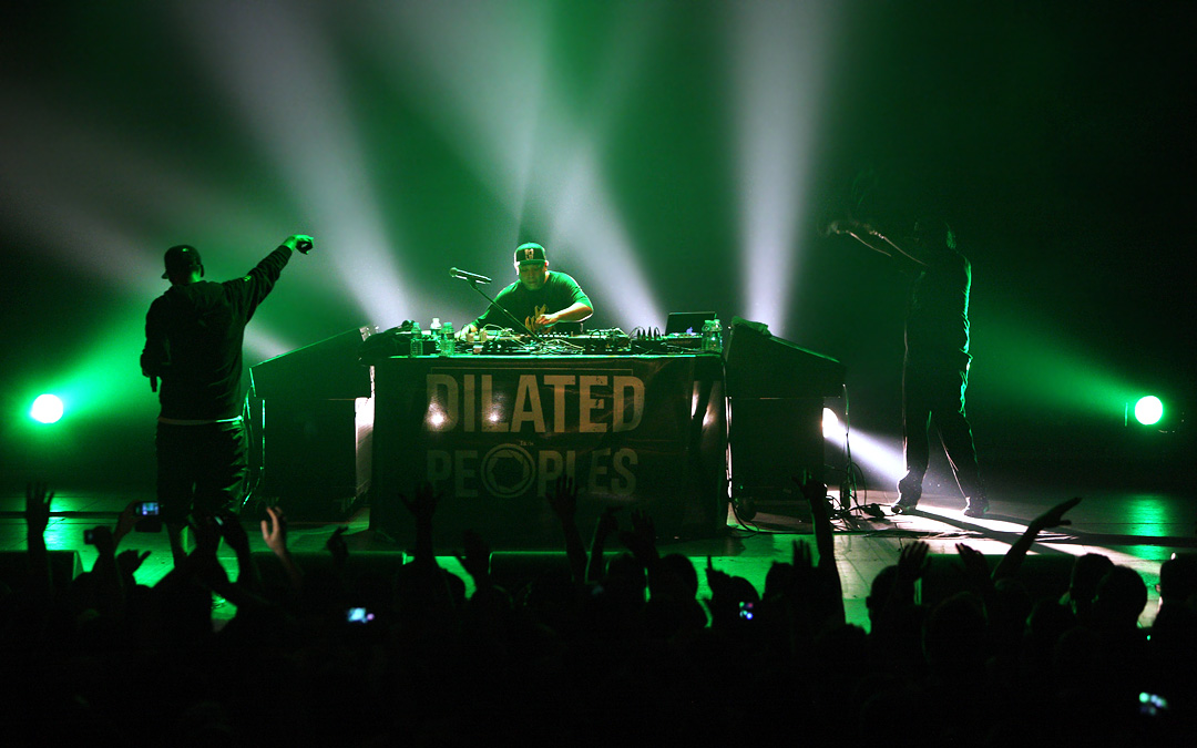 Dilated Peoples - Live On Stage - Clockwork