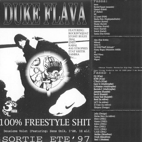 Duke Flava Mixtape - Volume 1