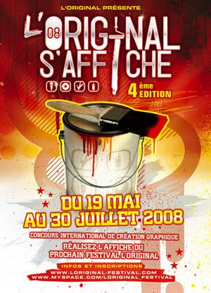 l'Original s'affiche tour 2008